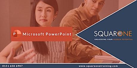 Microsoft PowerPoint Advanced (Online Training) tickets