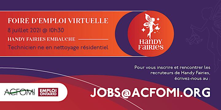Virtual Job Fair - Handy Fairies - Foire d'emploi virtuelle image