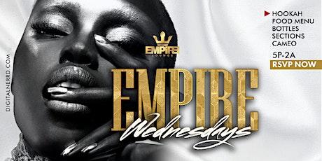 Winning Wednesdays at Empire Lounge DC tickets