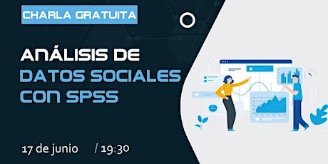 Análisis de datos sociales con SPSS entradas