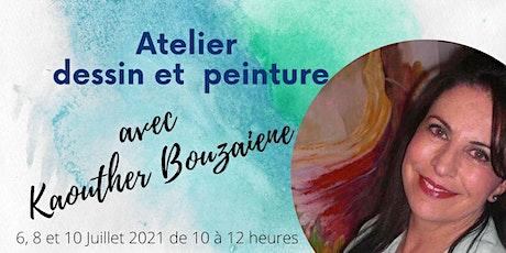 Atelier de peinture Chateauneuf en Auxois billets