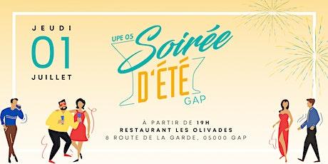 Soirée d'Été Gap - Les Olivades billets