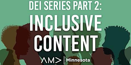 June 22, 2021 - DEI Series Part II Inclusive Talent tickets