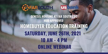 Far South CDC Homebuyer Education Class tickets