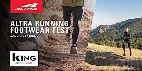 Altra Footwear Test  - King Sport & Style biglietti