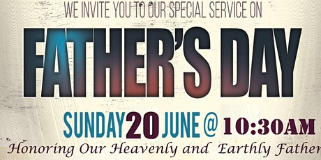 The Kingdom Life Empowerment...Today & Everyday Church 2021-FATHER'S DAY tickets