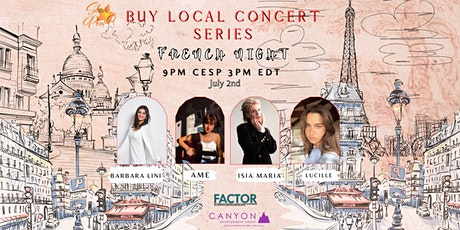 STAR Pow-R 'Buy Local' Concert Series -FRENCH NIGHT- Donation tickets