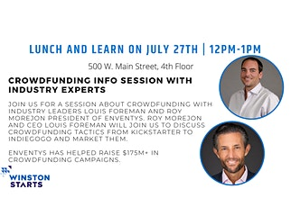 Lunch and Learn: Crowdfunding Session tickets