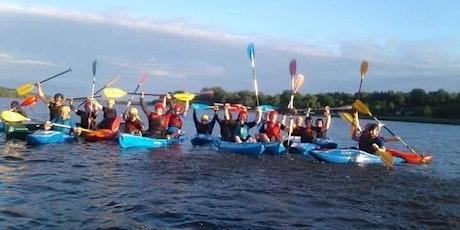Women on water kayaking   programme Wednesday evening  Loughrynn mohill tickets