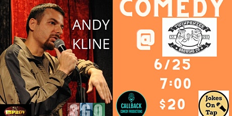 Comedy at Twinpanzee Brewing with Andy Kline (DC Improv, iTunes) tickets