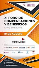 XI FORO DE COMPENSACIONES Y BENEFICIOS entradas