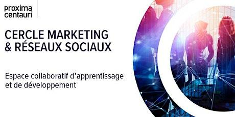 Cercle d'échanges marketing  et réseaux sociaux billets