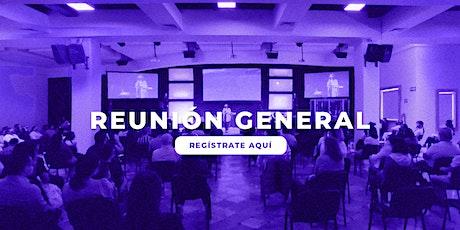 #NuevaGracia 2º Reunión Domingo 20 de Junio boletos