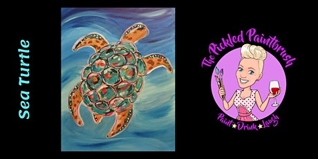 Painting Class - Sea Turtle - June  26, 2021 tickets