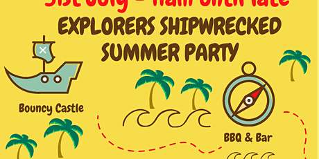 Explorers Summer Party tickets