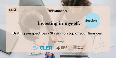 FEMfinance Session 4:  Staying on top of your finances. billets