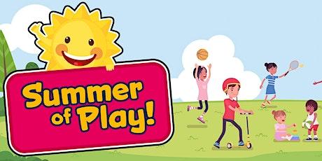 Summer of Play - Outdoor Sport & Play - Regent Walk (Age 5-7) tickets