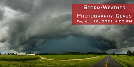Storm/Weather Photography Class tickets