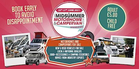 The Midsummer Motorhome & Campervan Show tickets