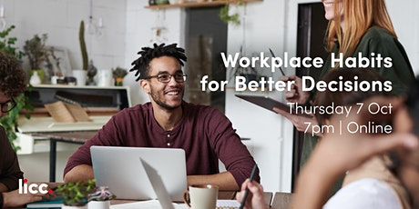 Workplace Habits for Better Decisions tickets