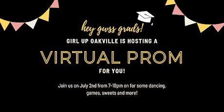 Garth Webb Secondary School Virtual Prom tickets