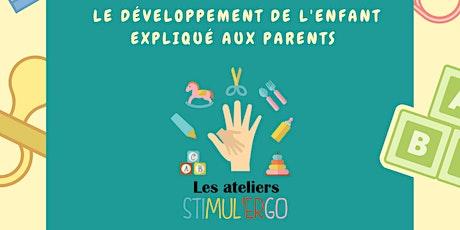 Atelier Stimul'ergo 0-6 mois billets