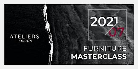 Furniture Masterclass tickets