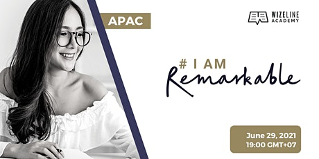 #IamRemarkable workshop APAC billets