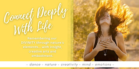 Connect Deeply With LIFE: Creative Workshop Exploring Nature's Elements entradas