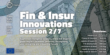 Finance and Insurance Innovations Conference | Session 2/7 tickets