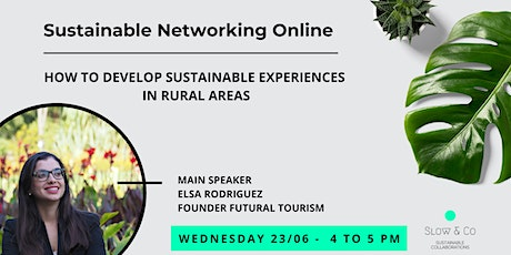 Sustainable Networking Online tickets