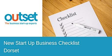 New Business Checklist tickets
