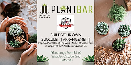 Pop-Up Plant Bar at The Odd Market in support of The Odd Fellows Lodge 175 tickets