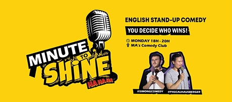 FREE English Stand-Up Comedy Show After Work - Minute To Shine #2 Tickets