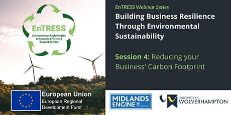 Building Business Resilience: Reducing your Business' Carbon Footprint tickets