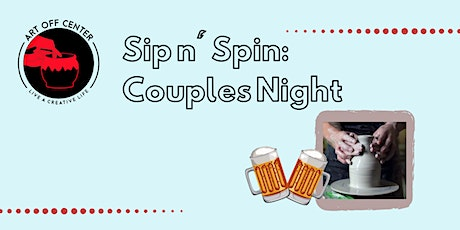 Copy of Sip and Spin-Couples Night Out tickets