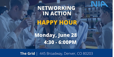 Networking in Action    Happy Hour tickets