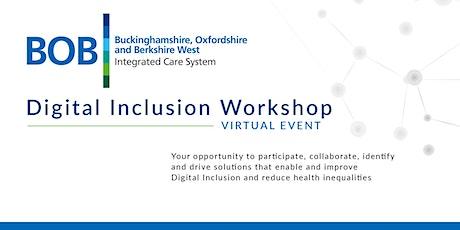 BOB ICS - Digital Inclusion Workshop tickets