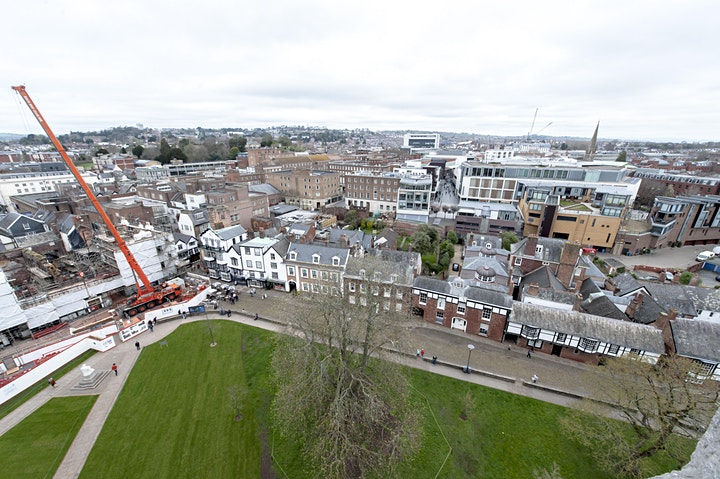 Walking with Cameras - Exeter Cathedral Roof Top Tour image