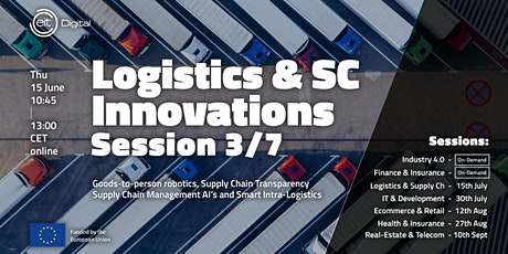 Logistics and Supply Chain Innovations Conference   Session 3/7 Tickets