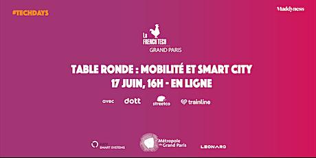 Table Ronde Smart City & Mobilité tickets