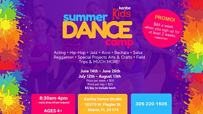 The Best Summer Dance Camp - EXTENDED tickets