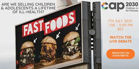 Are we selling children & adolescents a lifetime of ill-health? tickets