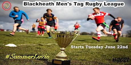 Tuesdays NCR Blackheath Tag Rugby MEN'S League SE London Summer'21 tickets
