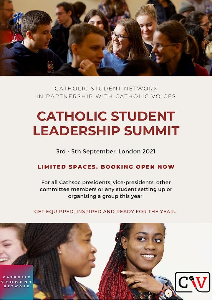 Catholic Student Leadership Summit image