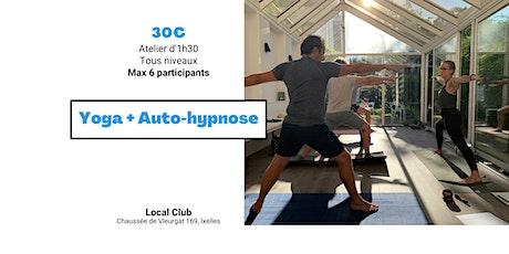 Yoga + Autohypnose 22/06/21 - nouvelle date billets