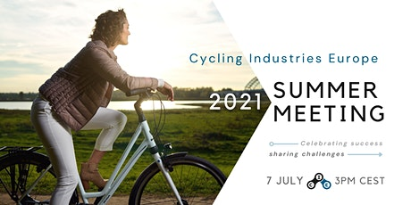 Cycling Industries Europe 2021 Summer Meeting tickets