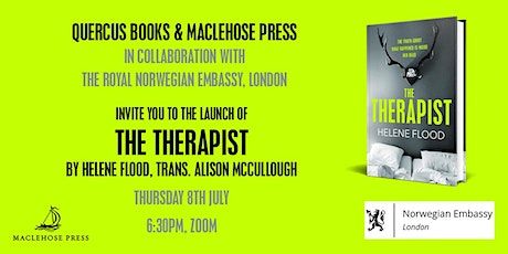 Virtual book launch for The Therapist by Helene Flood tickets