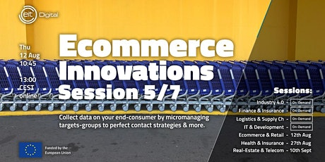 Ecommerce and Retail Innovations Conference | Session 5/7 entradas