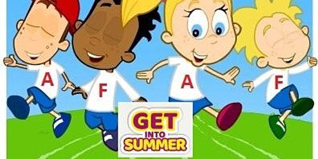 James Young  'Get into Summer' Active Fun Active Feet  Holiday Programme tickets